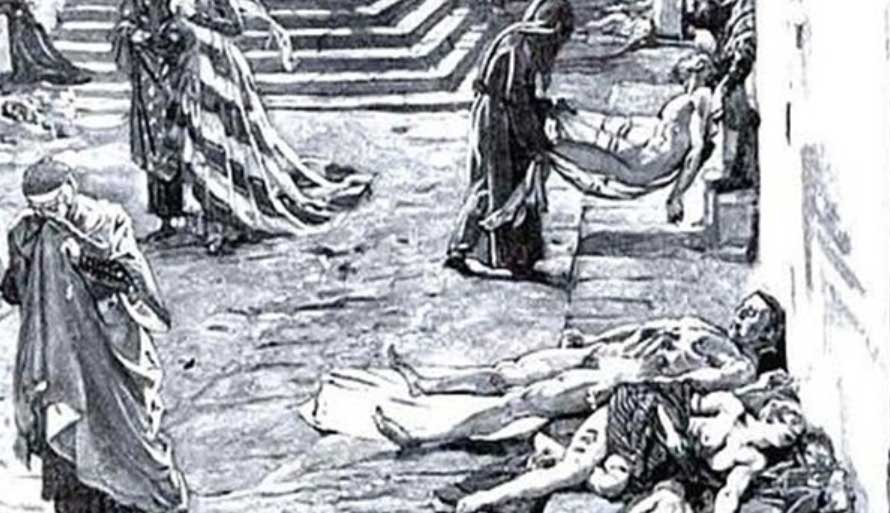 Pembuangan Korban Wabah Black Death